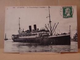 BATEAUX - N° 245 LE HAVRE . - Le Transatlantique Leopoldina .1924. - Steamers