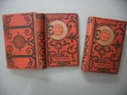 JULES VERNE, 1906, HETZEL - LE VOLCAN D'OR, 2 Vol. HETZEL, Illustrés GEORGE ROUX - Livres, BD, Revues