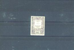 PORTUGAL - 1924 Camoens 75c MM (toned Gum) - 1910-... Republic
