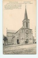 Monthermé : Saint Antoine Des Hauts Buttés, L'Eglise. 2 Scans. - Montherme