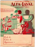 Buvards, Protège-cahiers Illustrés > Agriculture L Ecremeuse ALFA-LAVAL - Agriculture