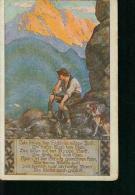 """Volksliederkarten Nr. 9 """"Ich Schieß Den Hirsch Im Wilden Forst"""" Jäger Hunter - Musique Et Musiciens"""
