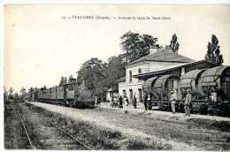 33  ETAULIERS  -  ARRIVEE DU TRAIN DE SAINT CIERS - Frankreich