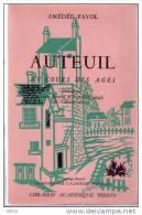 REGIONALISME  -  AUTEUIL  AU  COURS  DES AGES  -  A. FAYOL 1955 - Ile-de-France