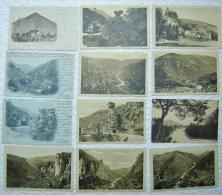 Gorges Du TARN Lot De 47 Cartes Postales + 1 Guide Illustré En Couleurs - France