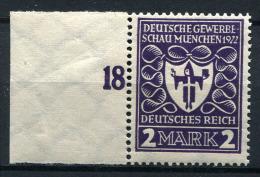 13661) DEUTSCHES REICH # 200 B Postfrisch GEPRÜFT Aus 1922, 80.- € - Allemagne