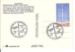 SALON  INTERNATIONAL DE L'AERONAUTIQUE  ET DE L4ESPACE   DU BOURG  1979ET - FDC