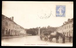 88 SENONES / Place Du Château / - Senones