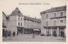 Châtillon Sur Chalaronne 01 - Commerces Place - Combier Coll. Berthelier - Châtillon-sur-Chalaronne