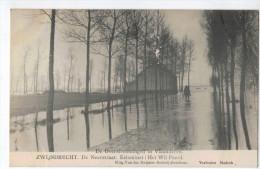 Zwijndrecht.De Neerstraat.Estaminet:Het Wit Peerd;De Overstroomingen In Vlaanderen - Zwijndrecht