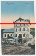 PostCard - Slănic (Prahova) - Slanic Prahova - Salinele - Salzbergwerk Bergwerk - 1917 Sereth - Roumanie
