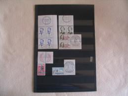 PETIT LOT TIMBRES NEUF...CACHETS...QQUES DEFAUTS. - Stamps