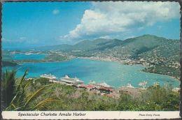 Virgin Islands - Saint Thomas - Charlotte Amalie Harbour - Cruise - Jungferninseln, Amerik.