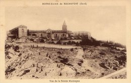 [DC8958] GARD - NOTRE DAME DE ROCHEFORT - VUE DE LA SAINTE MONTAGNE - Old Postcard - Rochefort-du-Gard