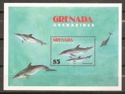 DELFINES - GRENADINES 1982 - Yvert #H71 - MNH ** - Delfines