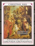 PINTURA/RUBENS - GRENADINES 1989 - Yvert #H184 - MNH ** - Rubens