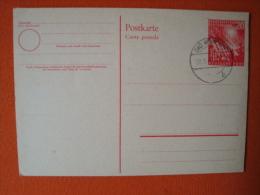 "BRD: Ganzsache PSo2 Stempel""Bad Nenndorf 28.9.49"" - Cartes Postales - Oblitérées"