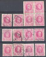 _3L923: Uit Oude Verzameling.... N° 200 : 14 Zegels...om Verder Uit Te Zoeken.. - 1922-1927 Houyoux