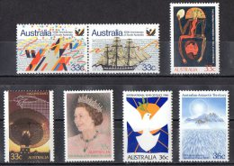 Australia 1986 Selected Issues MNH - 1980-89 Elizabeth II