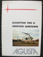 DEPLIANT   AGUSTA Elicotteri Per Il Soccorso Sanitario - Hélicoptères