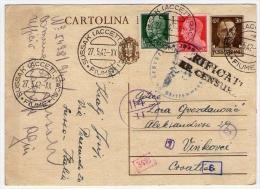Postcard - Italia, Censura, Fiume, Rijeka    (V 18572) - Altri