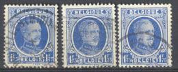 _3L-921: Uit Oude Verzameling.... N° 257 : 3 Zegels...om Verder Uit Te Zoeken.. - 1922-1927 Houyoux