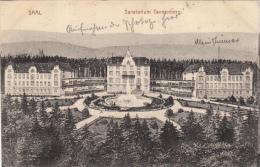 SAAL.  SANATORIUM TANNENBERG -dép67 -CARTE ALLEMANDE (2scans) - France