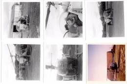 6 Photos Hélicoptère, à Identifier - Aviation