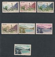 Andorra Francese 1961 Vedute 7 V. Nuovi** - Neufs