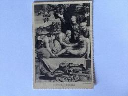 LA DEPOSIZIONE DI PROSPERO FONTANA VIAGGIATA 1967 ( Con Scritta Buona Pasqua) - Quadri, Vetrate E Statue