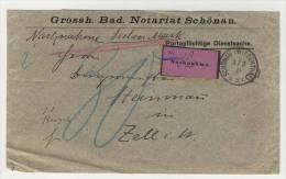 Deutsches Reich Dienstsache Nachnahme