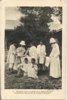 AMERIQUE GUYANA EVANGELISES PAR LES PERESS DU SAINT ESPRIT DISPENSAIRE DES SOEURS DE ST JOSEPH CLUNY - Postcards
