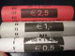 OLANDA PAYS-BAS ROTOLINI Da 50 Monete  X  1, 2 E 5 CENT 2008 : AFFARONE 150 Monete VALORE CATALOGO 400 EURO - Rotolini