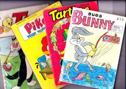 Lot De 4 BD . Bunny - Tartine - Titi - Piko - Books, Magazines, Comics