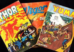 Lot De 3 BD - Thor N°15 - Vigor N° 232 - Yuma N° 238 - Bücher, Zeitschriften, Comics