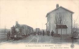 82 - Molières - La Gare (train) - Molieres