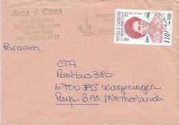 Nouvelle Caledonie 2001 Bourail Woman Queen Hortense Cover - Cartas