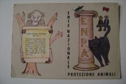 TESSERA  ENPA  ENTE NAZIONALE PROTEZIONE ANIMALI  NUOVA - Documents Historiques