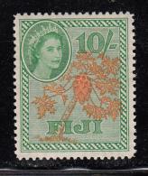 Fiji MH Scott #161 10sh Papaya Tree - Fidji (...-1970)