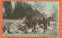 HA330, Fantaisie , Couple D'amoureux,  Circulée 1923 - Cavalli