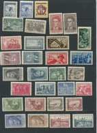 Czechoslovakia  1950 Mi 605-642+Block 12 MNH Complete Year( - 1 Stamp)  Cv 129 Euro - Full Years