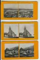 Lot De 15 Photos Steréo Sur La SUISSE (VOIR LES 2 Scans Et La Description) - Photos Stéréoscopiques