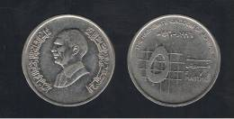 JORDANIA -  5  Piastres  1996  KM54 - Jordania