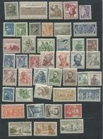 Czechoslovakia  1954 Mi 844-888+Block 15  MNH Complete Year (-1 Stamp) Cv 95 Euro - Full Years