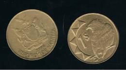 NAMIBIA -  1 Dolar  2006  KM4  -  Bird  -  Animal Coin - Namibia