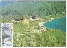 Poland Zakopane Morskie Oko Schronisko Hala Gasienicowa Tatra Mountains Tatry - Cartes Maximum