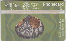 PAPUA NEW GUINEA - Traditional Bowls/Tami Island, CN : 407B, Tirage 8000, Mint - Papua New Guinea