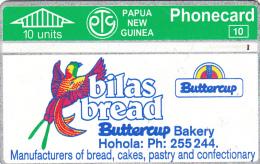 PAPUA NEW GUINEA - Bilas Bread, CN : 209A, Tirage 2500, Used - Papua New Guinea