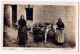 CPSM TARJETA N°30 - TOLEDO Castilla La Mancha Spain - Hueveras Barguenas - Vendeuses D' Oeufs - Edit. L. Roisin Fot - Toledo