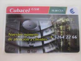 Prepaid Phonecard,used - Cuba
